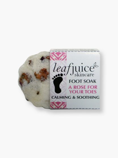 Foot Soak Rose for your toes