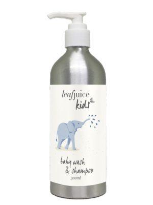 Baby wash and shampoo