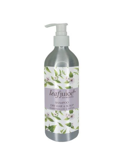 Shampoo Marshmallow root for dry hair