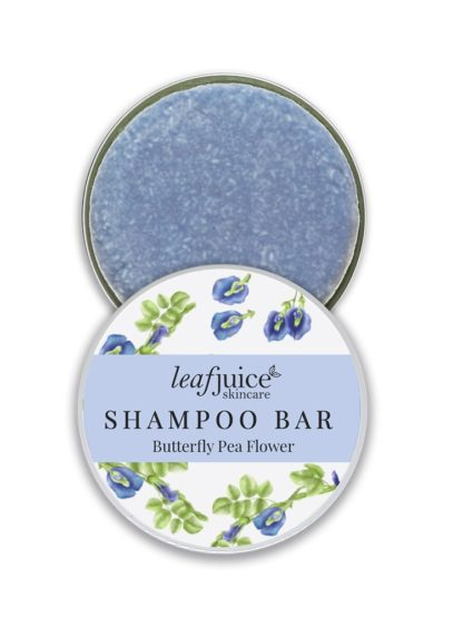 Shampoo Bar in tin Butterfly pea flower