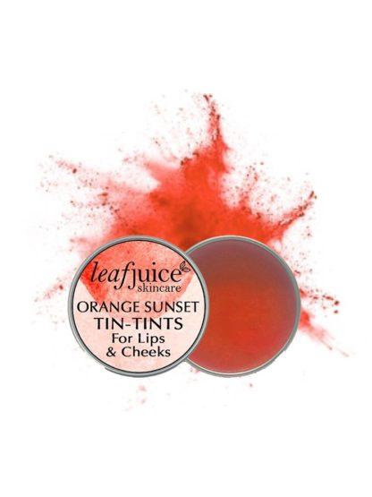 Tin tints Orange sunset