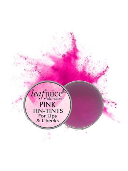 Tin tints Pink
