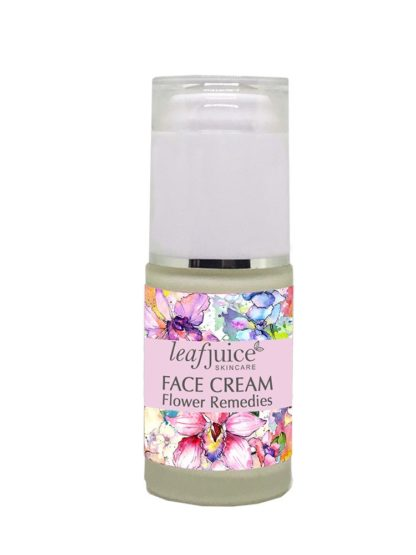 flower remedies face cream